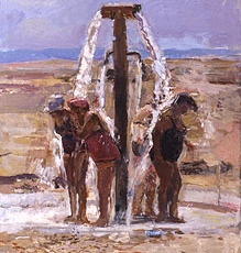 Ladies in the Shower, Dead Sea