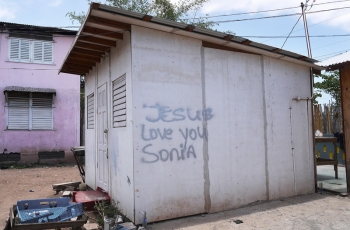 Jesus love you Sonia (Trench Town series)