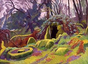 Neoloithic Hut Circle on Dartmoor