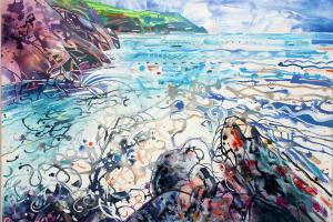 Rough Sea Hope Cove