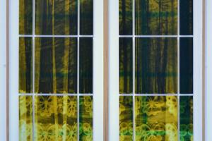 Fenster Scheibe - Grün